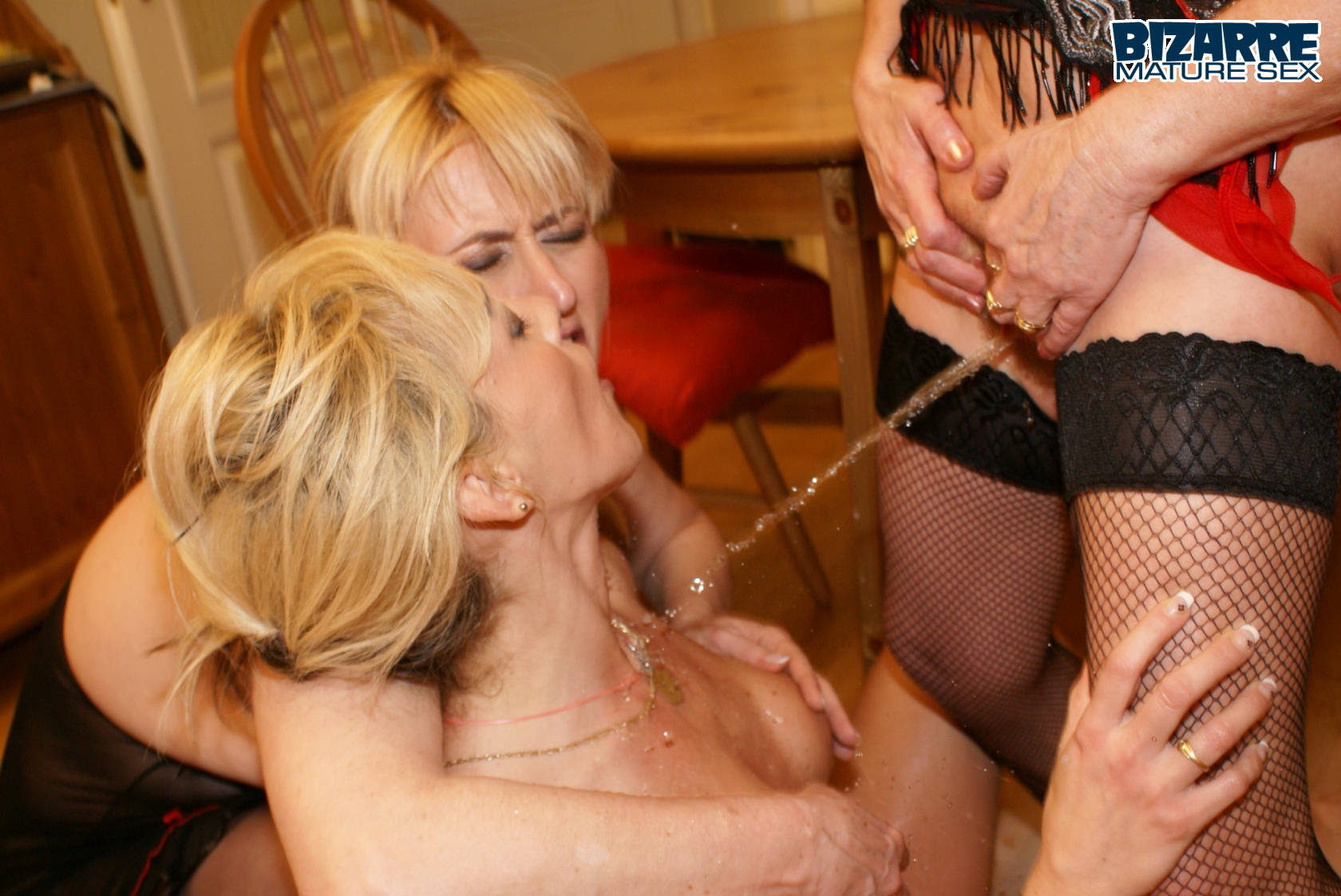 Old Lesbian Squirt