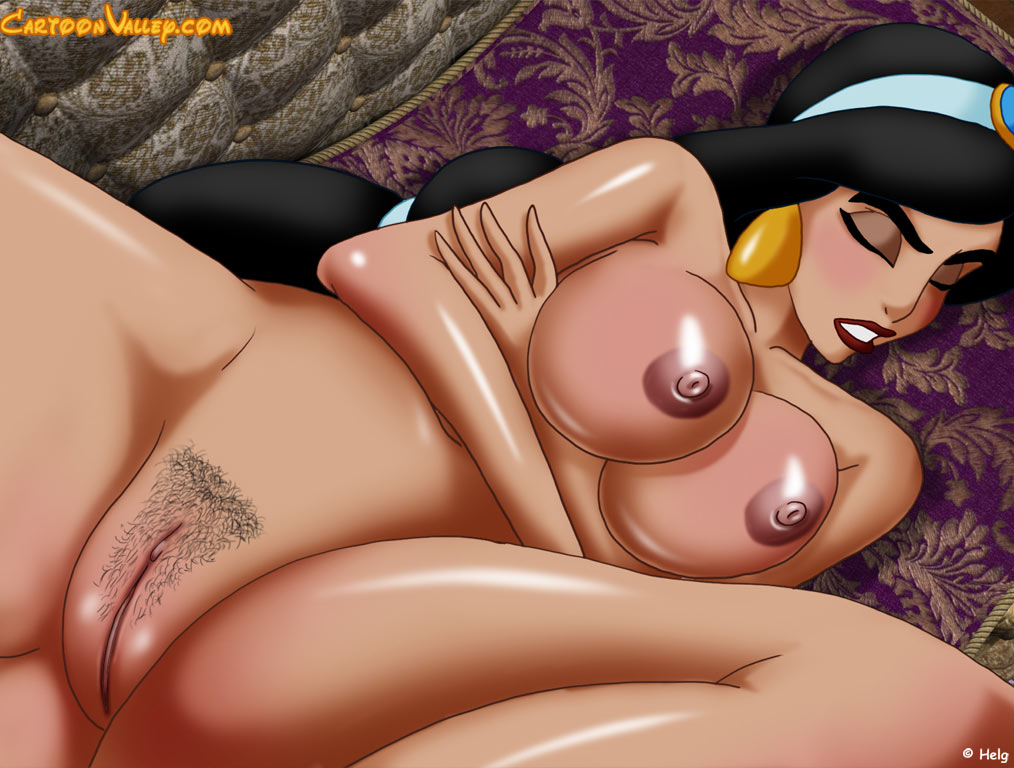 Genie's anal with princess jasmine