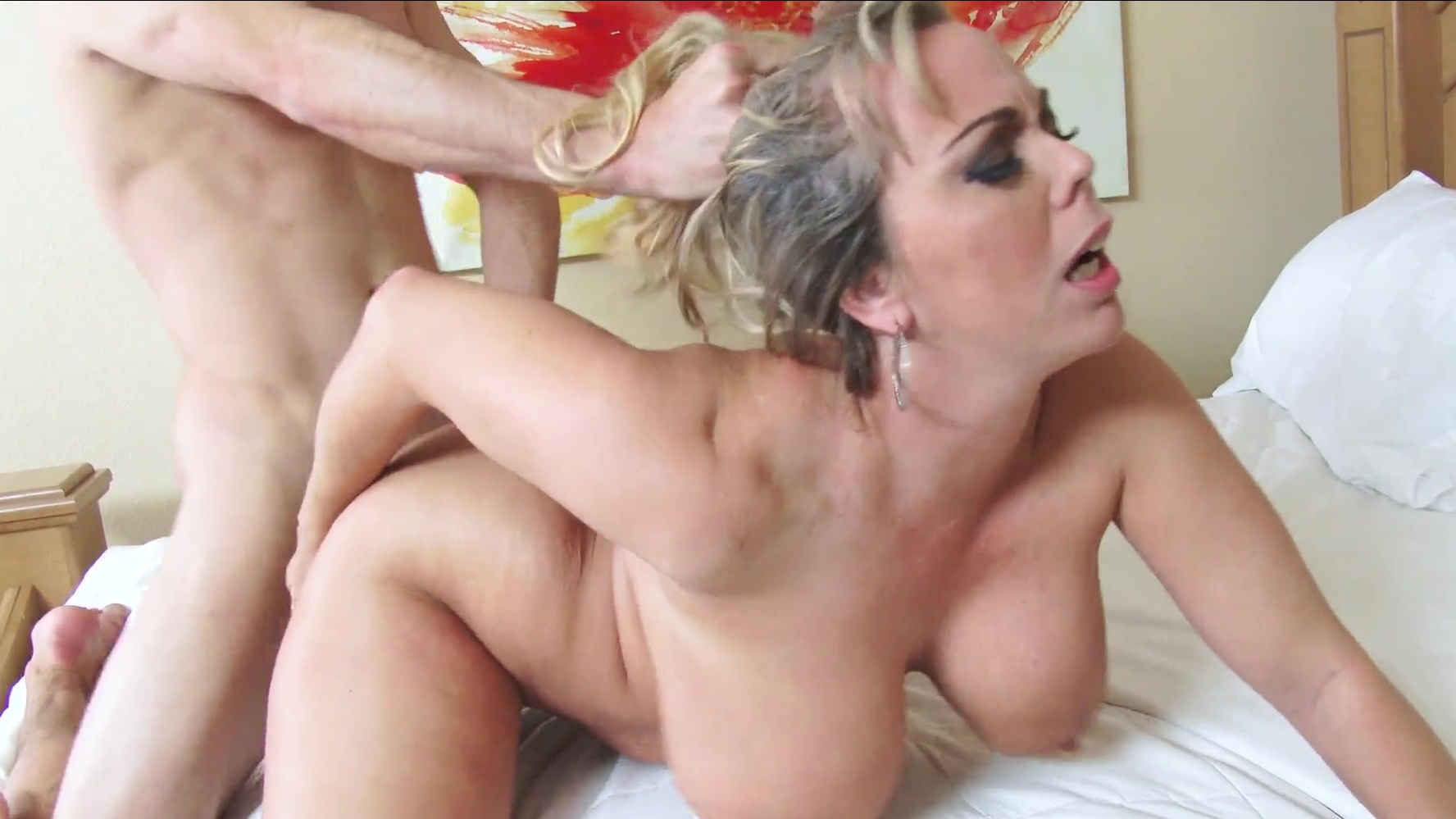 Spicy Blonde Milf With Big Tits Alura Tnt Jenson Likes Rough Sex