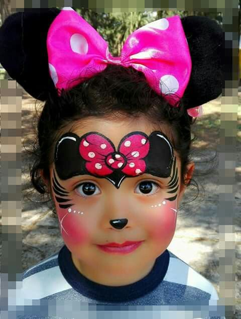 Minnie mouse face paint adults | amherstlive.com